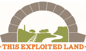 This exploited land logo